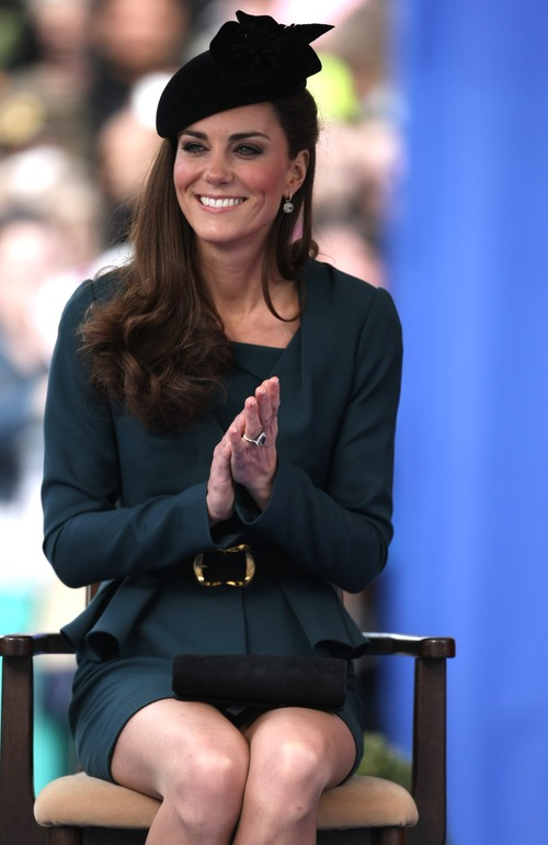 Kate Middleton - Queen Elizabeth II's Diamond Jubilee Tour (2)