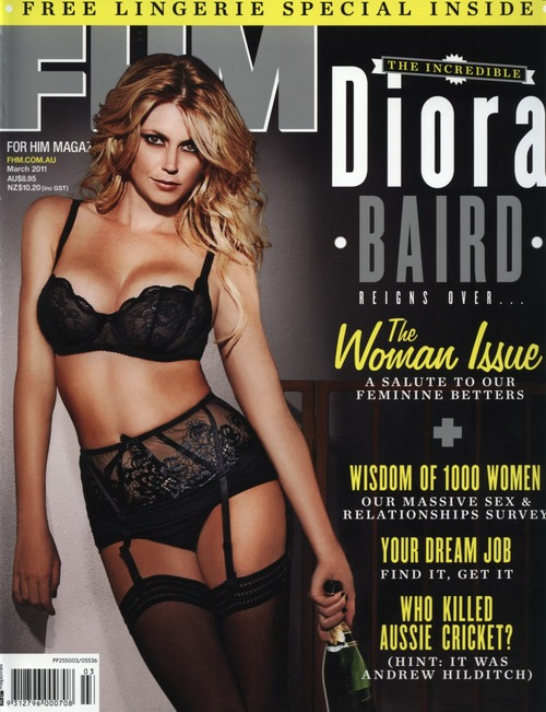 Diora Baird Australian FHM March