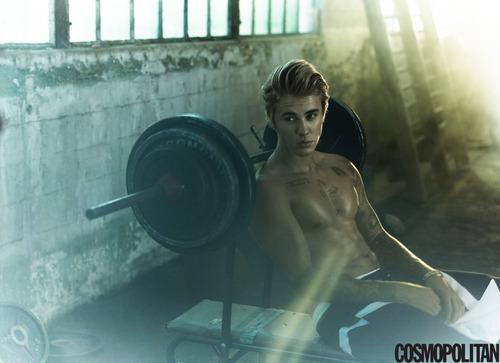 Justin Bieber - Cosmopolitan September 2015