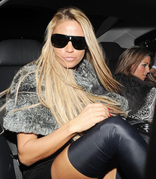 Katie Price - Balans Restaurant and Mahiki Night Club z05
