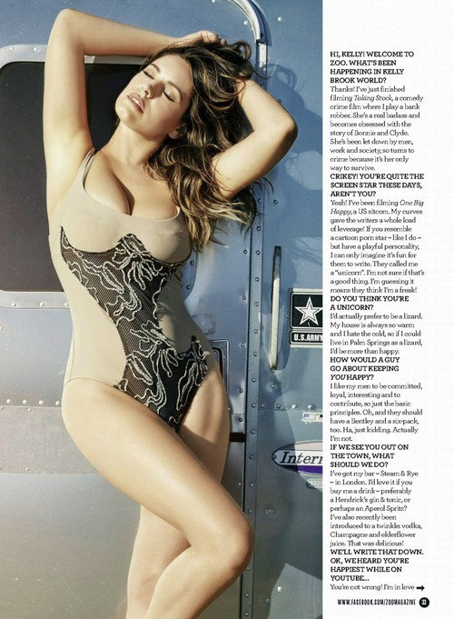 Kelly Brook  53