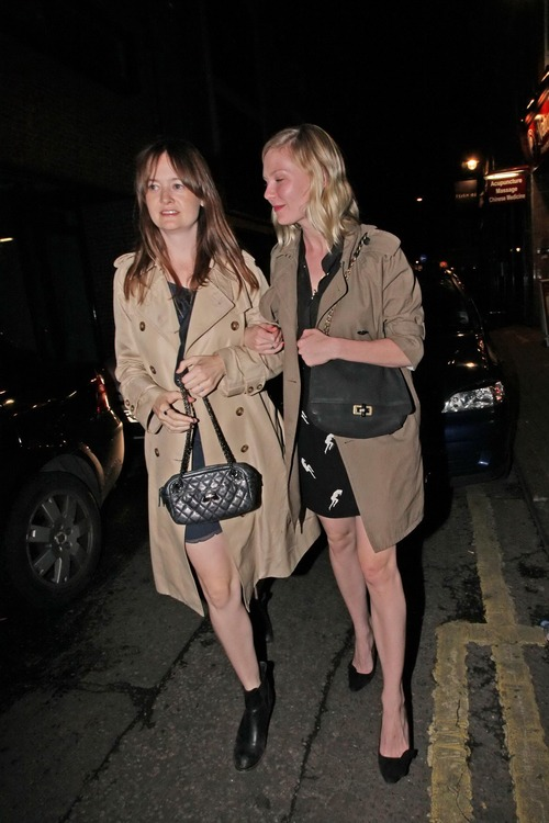 Kirsten Dunst leaving the Box in Soho London (5)