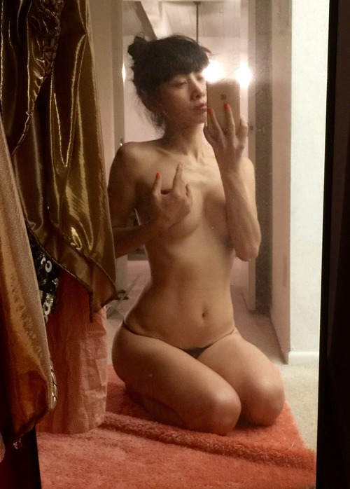 Bai Ling Naked Selfies Private Location (27)