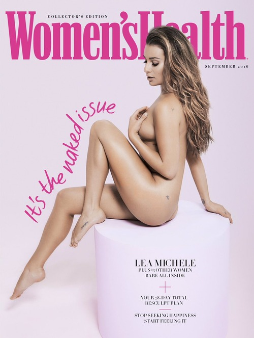 Lea Michele -  Women's Health UK September 2016 (2)