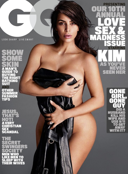 Kim Kardashian Naked for GQ (4)