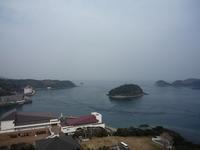平戸城からの風景