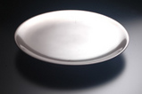 tokunari銀丸皿