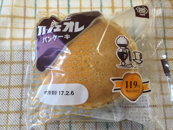 酪王 カフェオレ パンケーキ