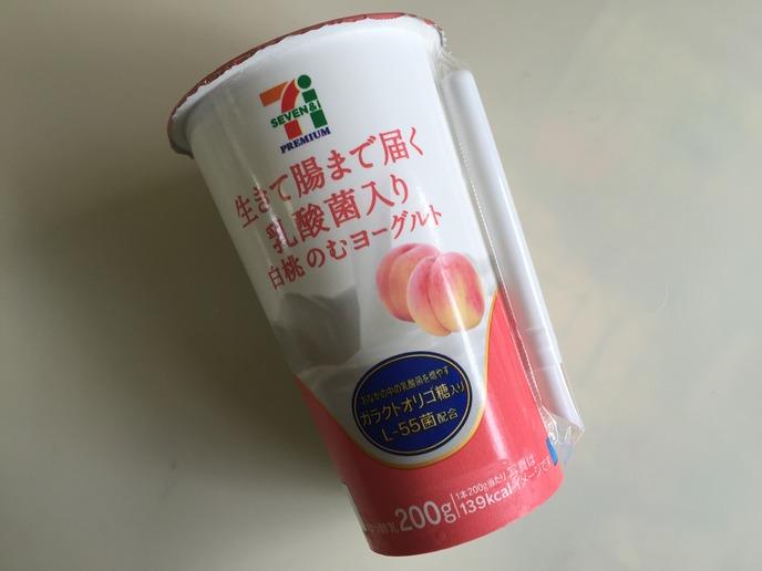 白桃のむヨーグルト