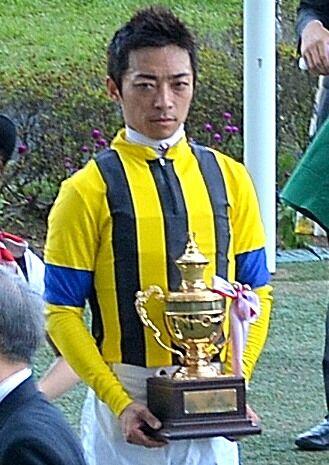 2015年の第51回七夕賞で表彰される川田将雅