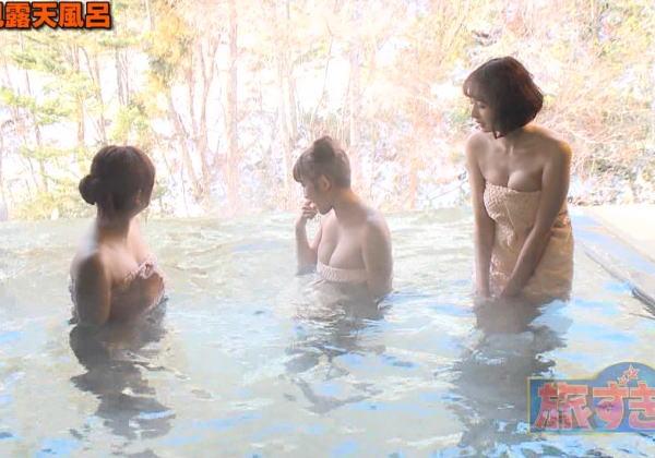旅ずきんちゃん、巨乳アイドルの温泉シーンがぐぅエロかったのでまとめ。(画像あり)