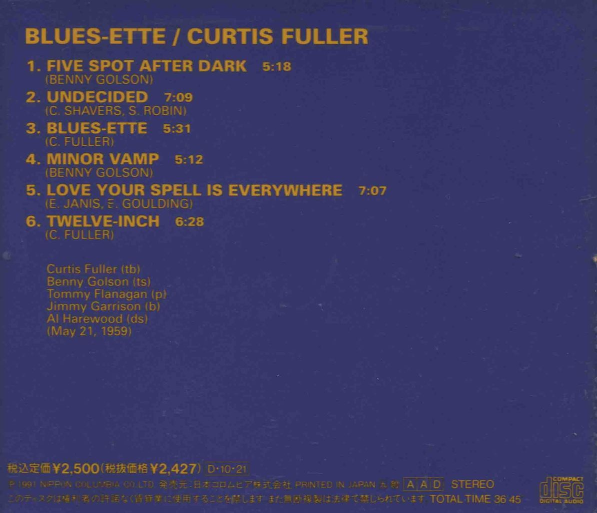 BLUES ETTE-2