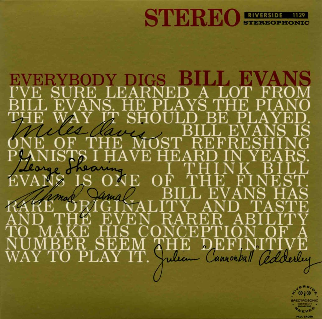 EVERYBODY DIGS BILL EVANS-1