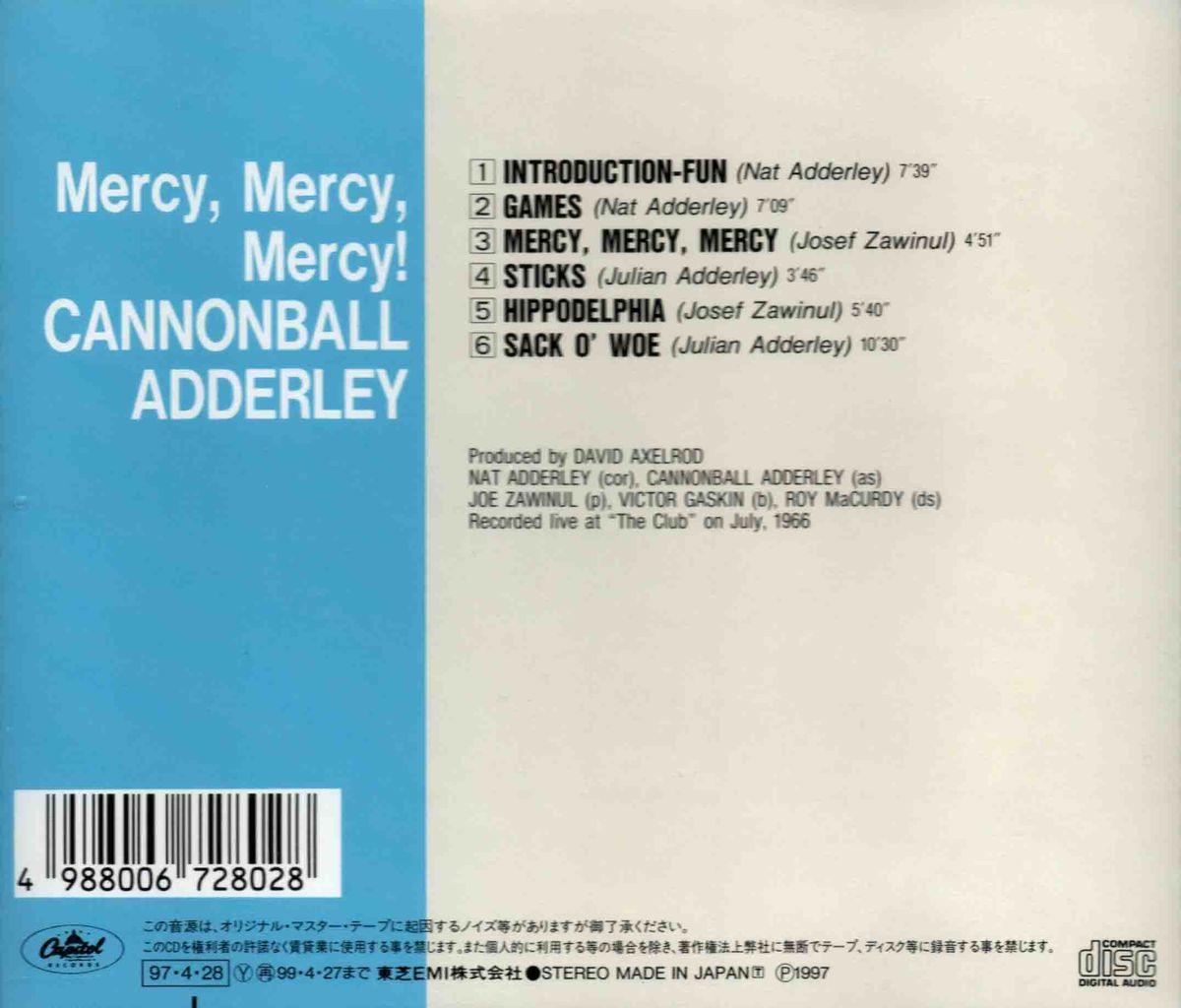 MERCY, MERCY, MERCY!-2