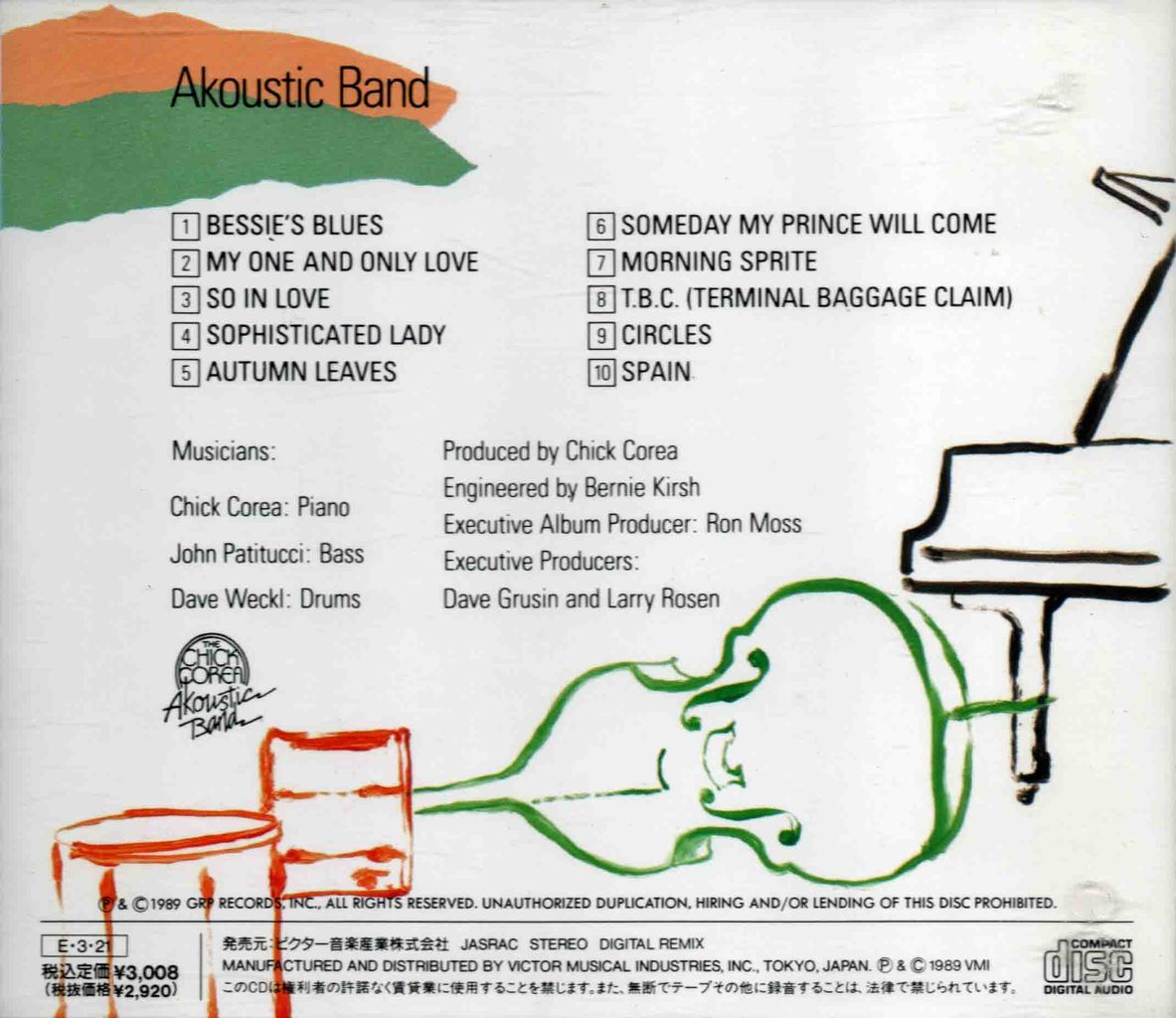 CHICK COREA AKOUSTIC BAND-2