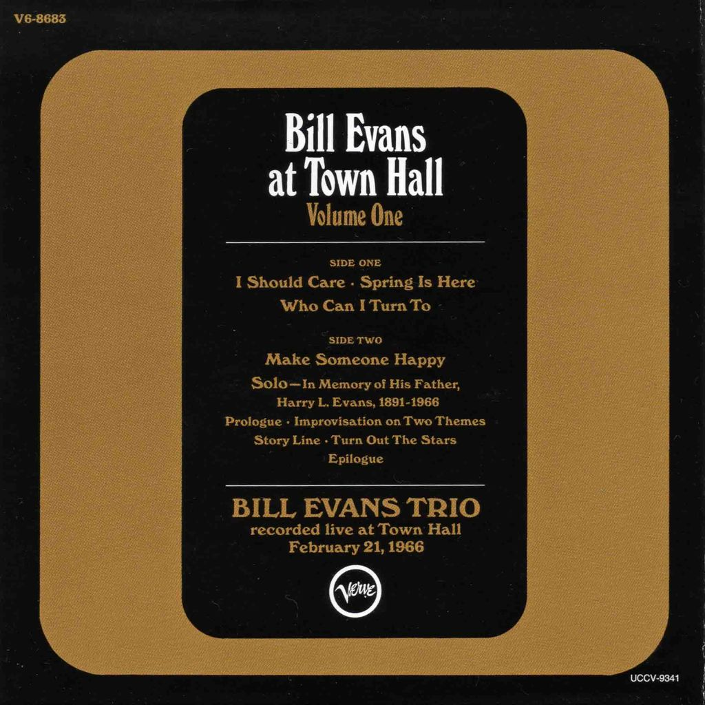 BILL EVANS AT TOWN HALL-2