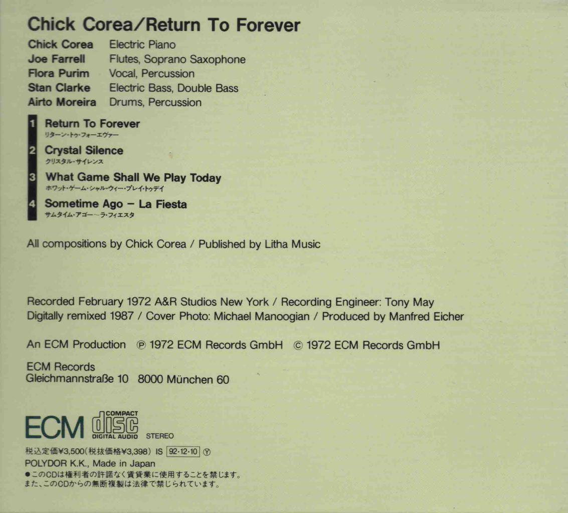RETURN TO FOREVER-2