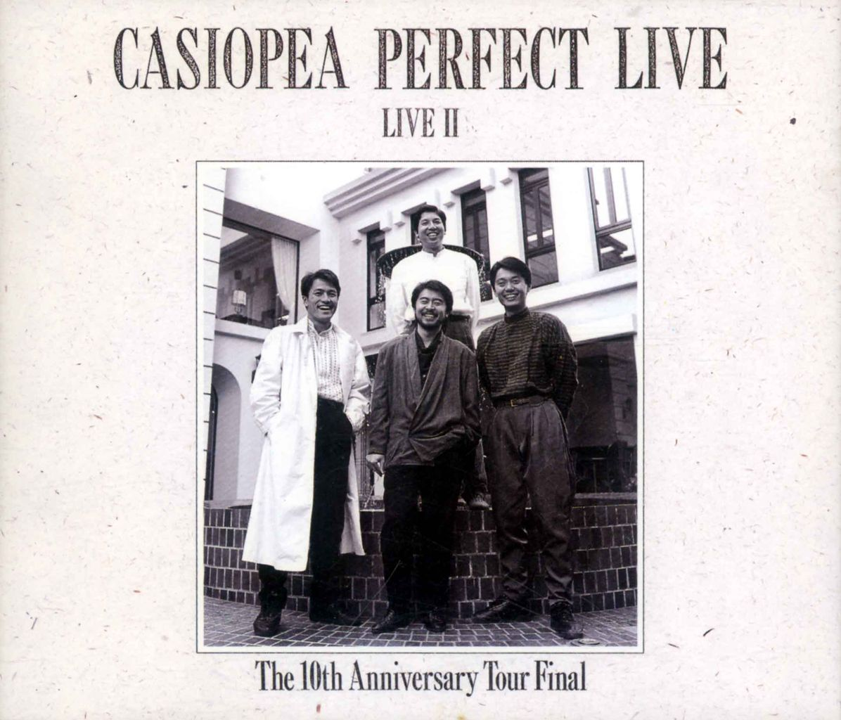 CASIOPEA PERFECT LIVE LIVEII-1