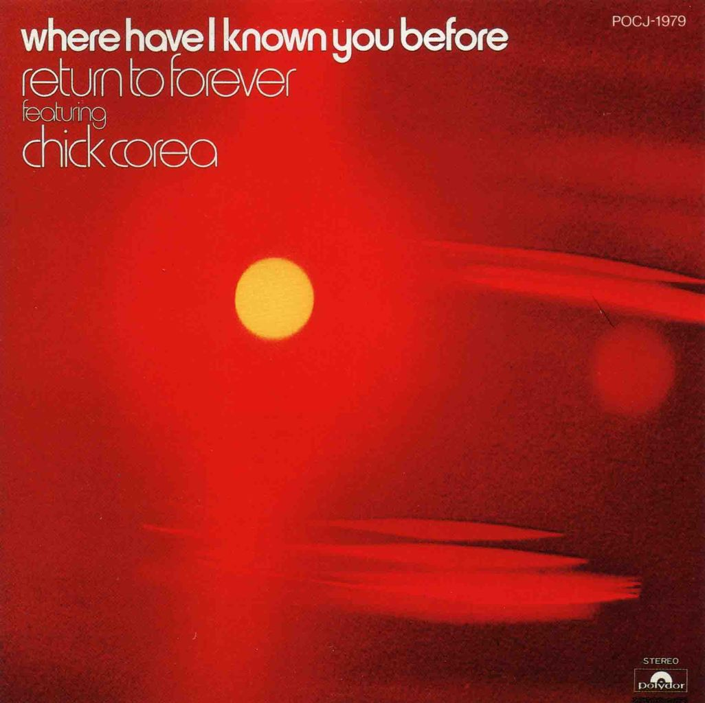 WHERE HAVE I KNOWN YOU BEFORE-1