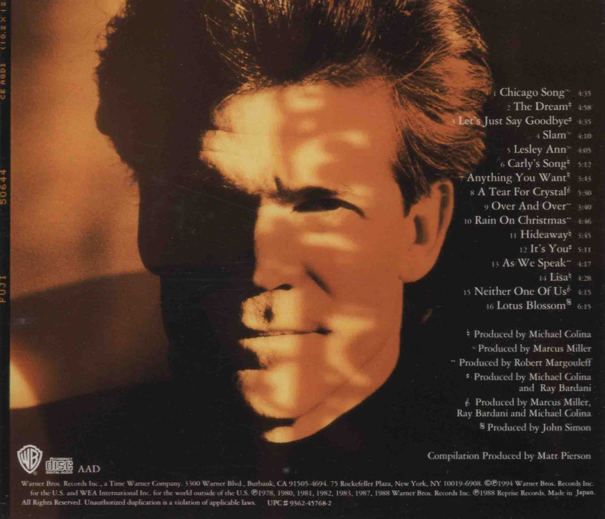THE BEST OF DAVID SANBORN-2