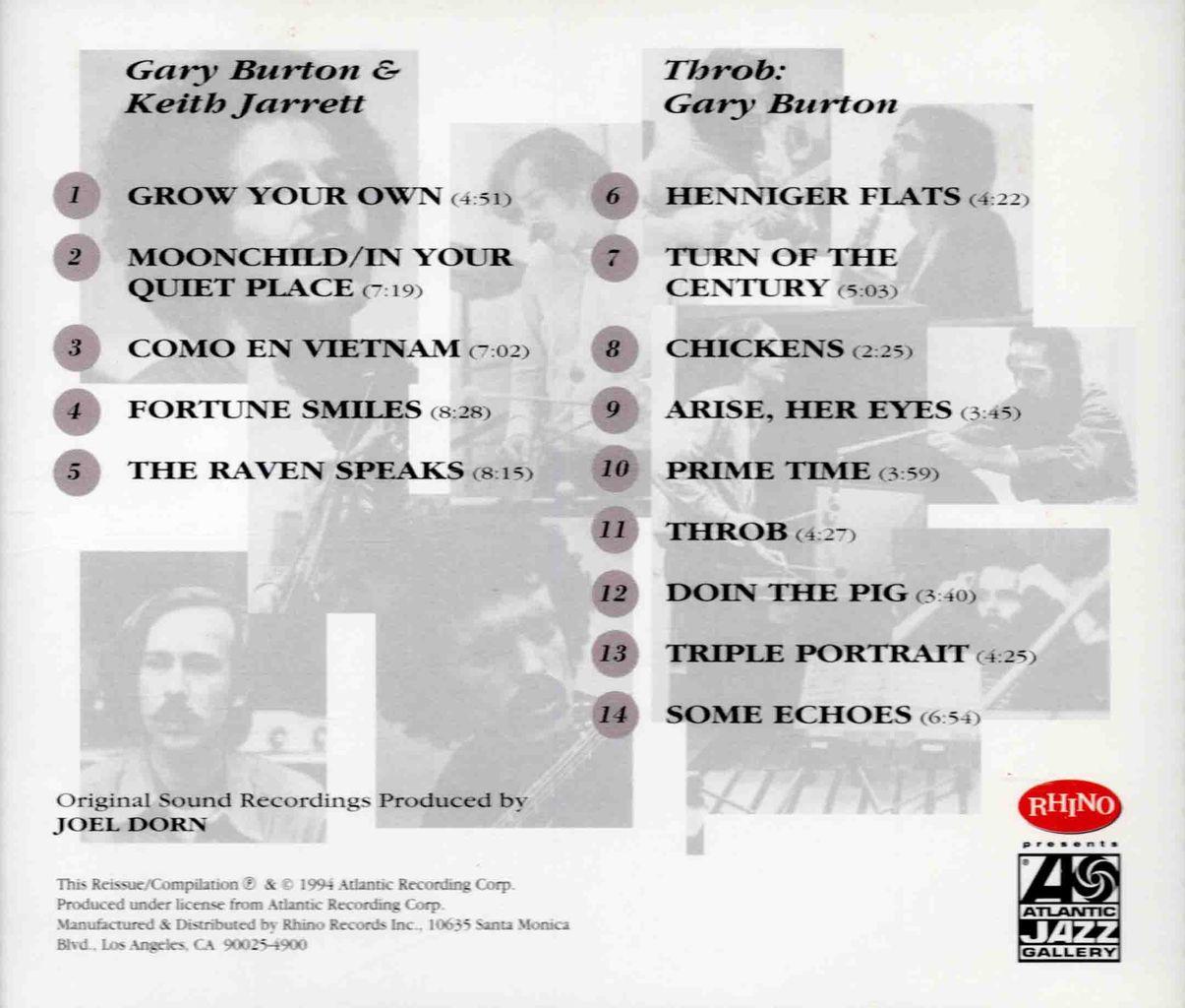 GARY BURTON & KEITH JARRETT-2