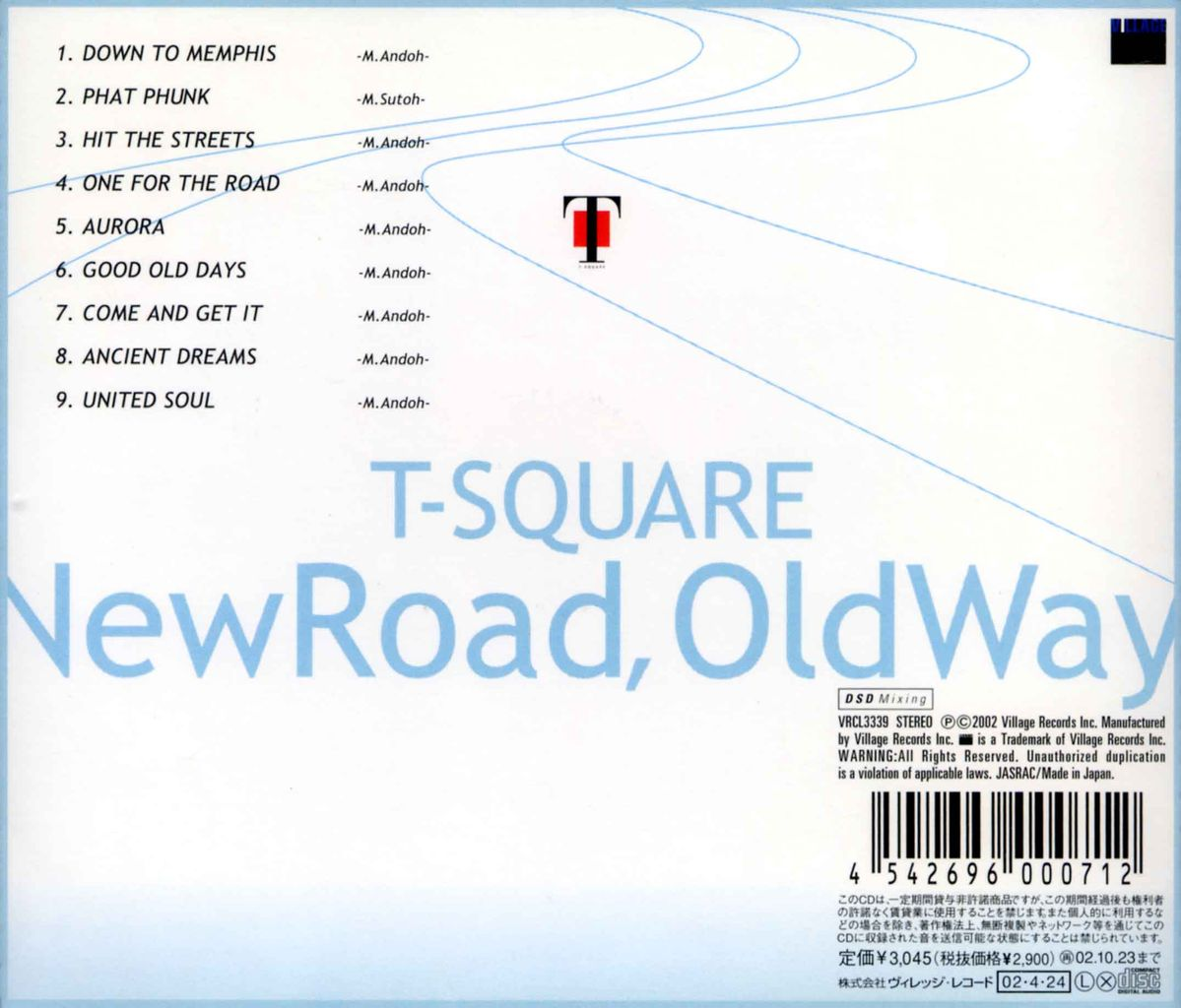 NEW ROAD, OLD WAY-2