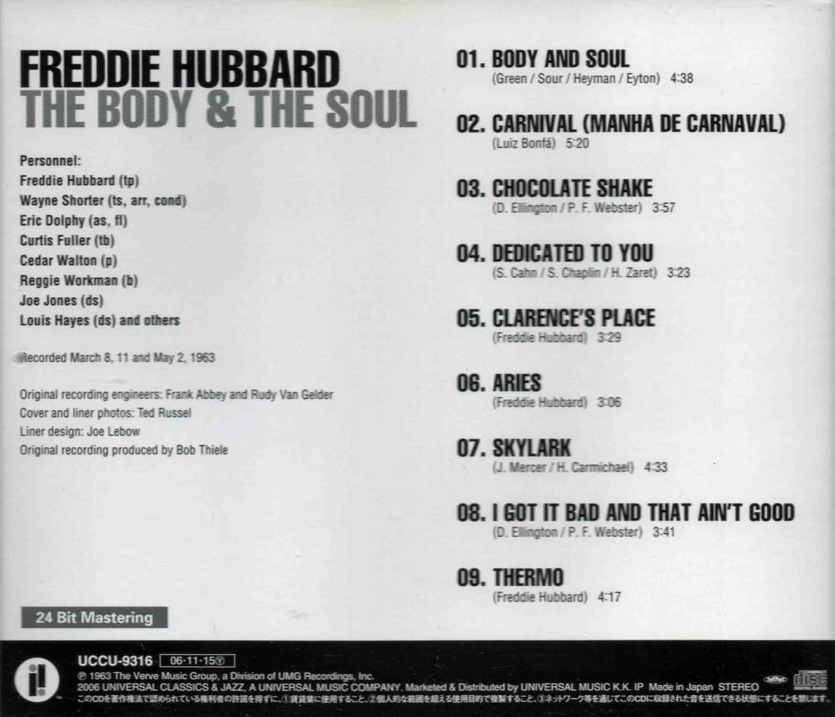 THE BODY & THE SOUL-2