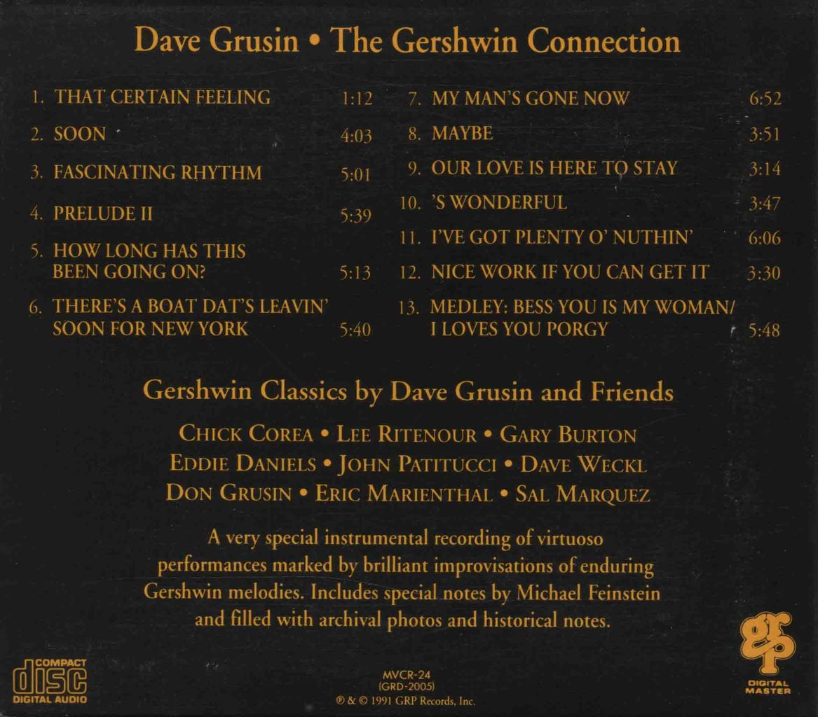 THE GERSHWIN CONNECTION-2