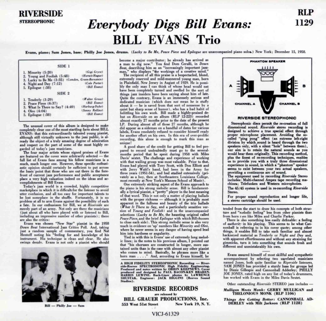 EVERYBODY DIGS BILL EVANS-2