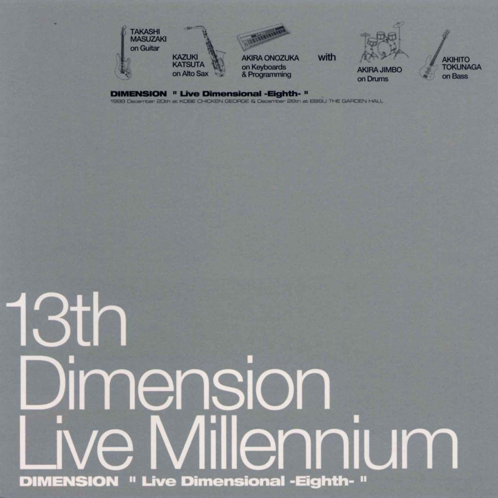 "13TH DIMENSION ""LIVE MILLENNIUM""-3"