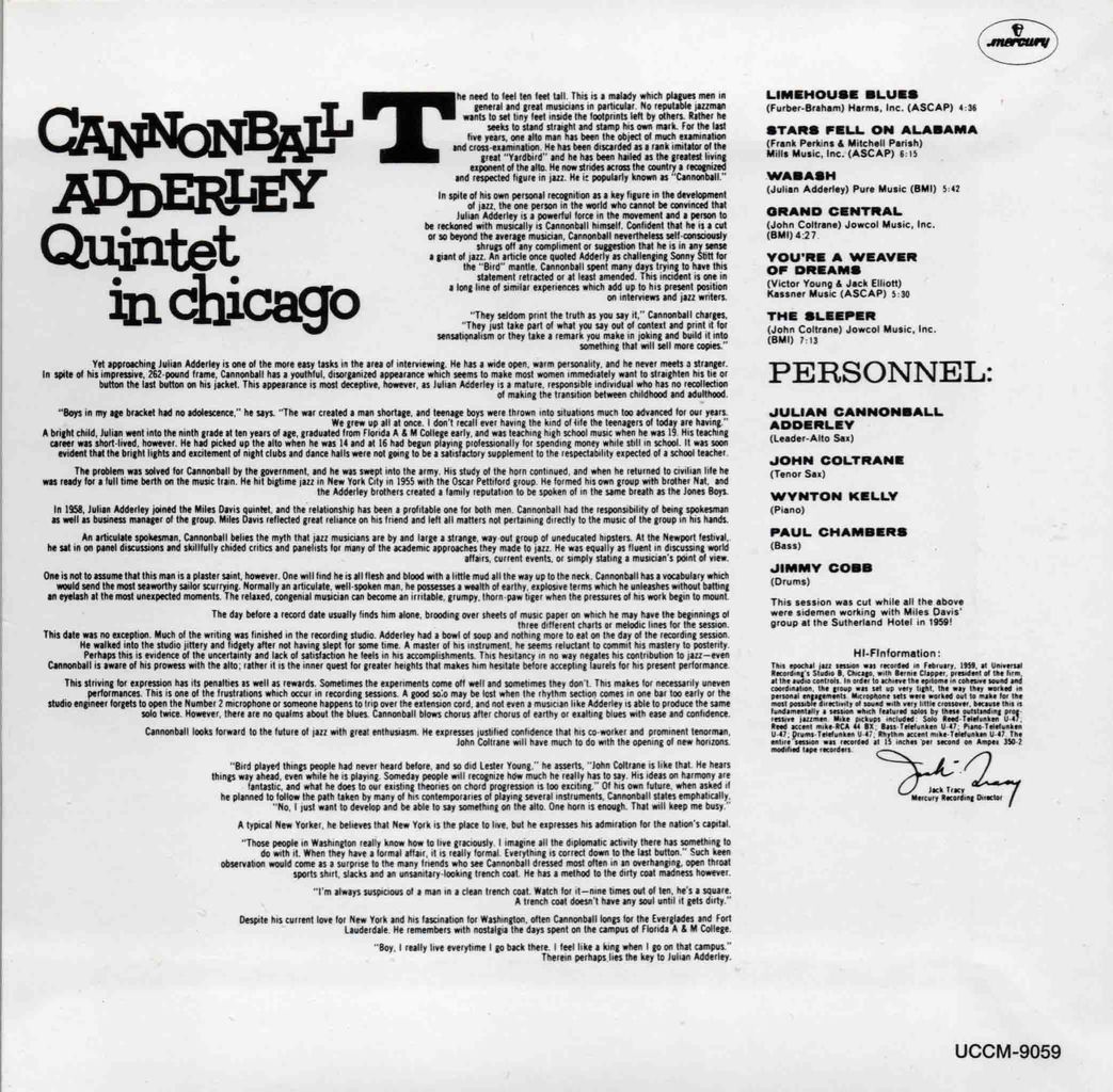 CANNONBALL ADDERLY QUINTET IN CHICAGO-2