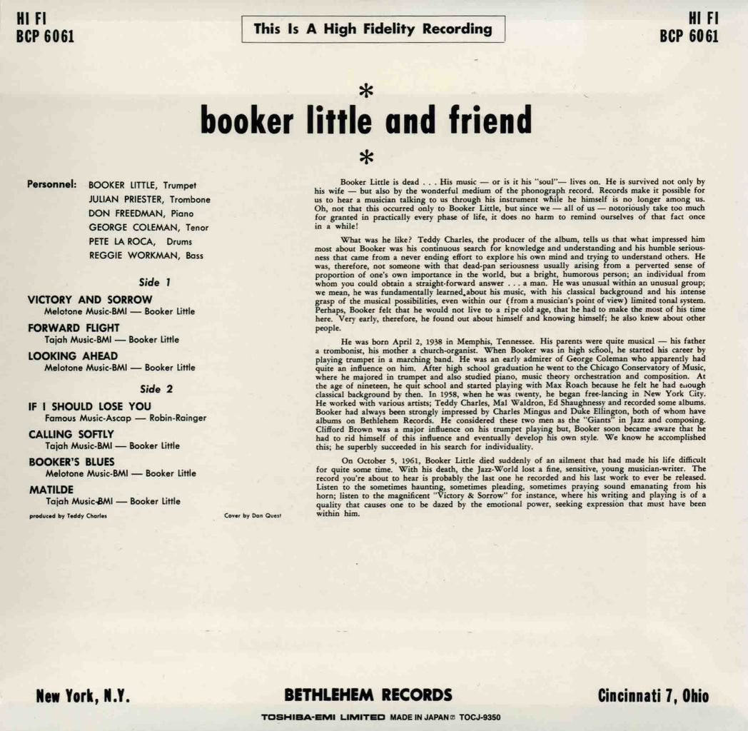 BOOKER LITTLE AND FRIEND-2
