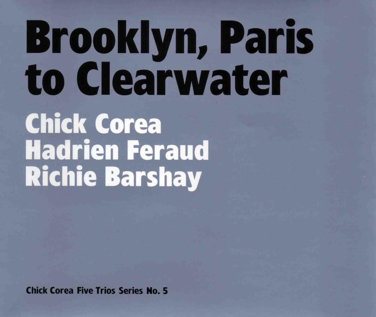 BROOKLYN, PARIS TO CLEARWATER-1