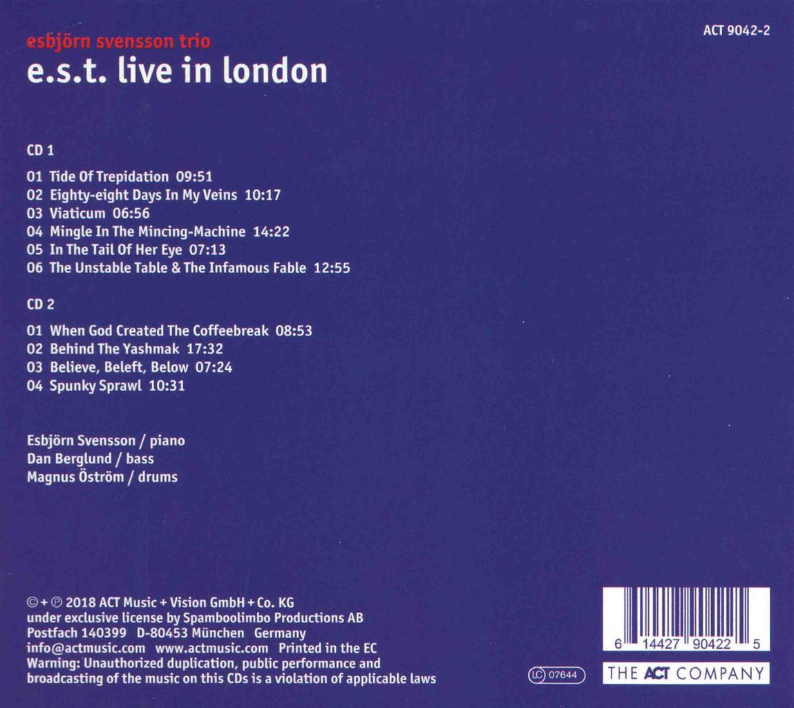 E.S.T. LIVE IN LONDON-2