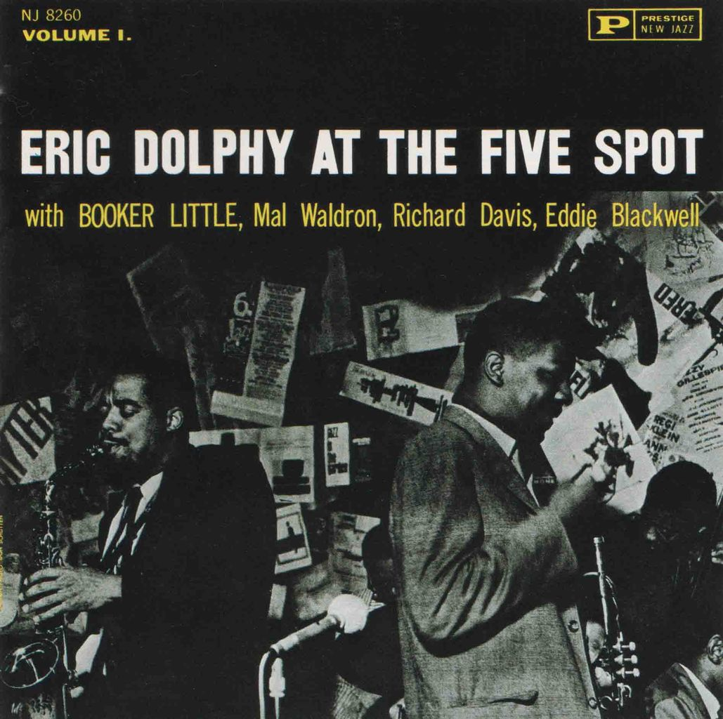 ERIC DOLPHY AT THE FIVE SPOT, VOL.1-1