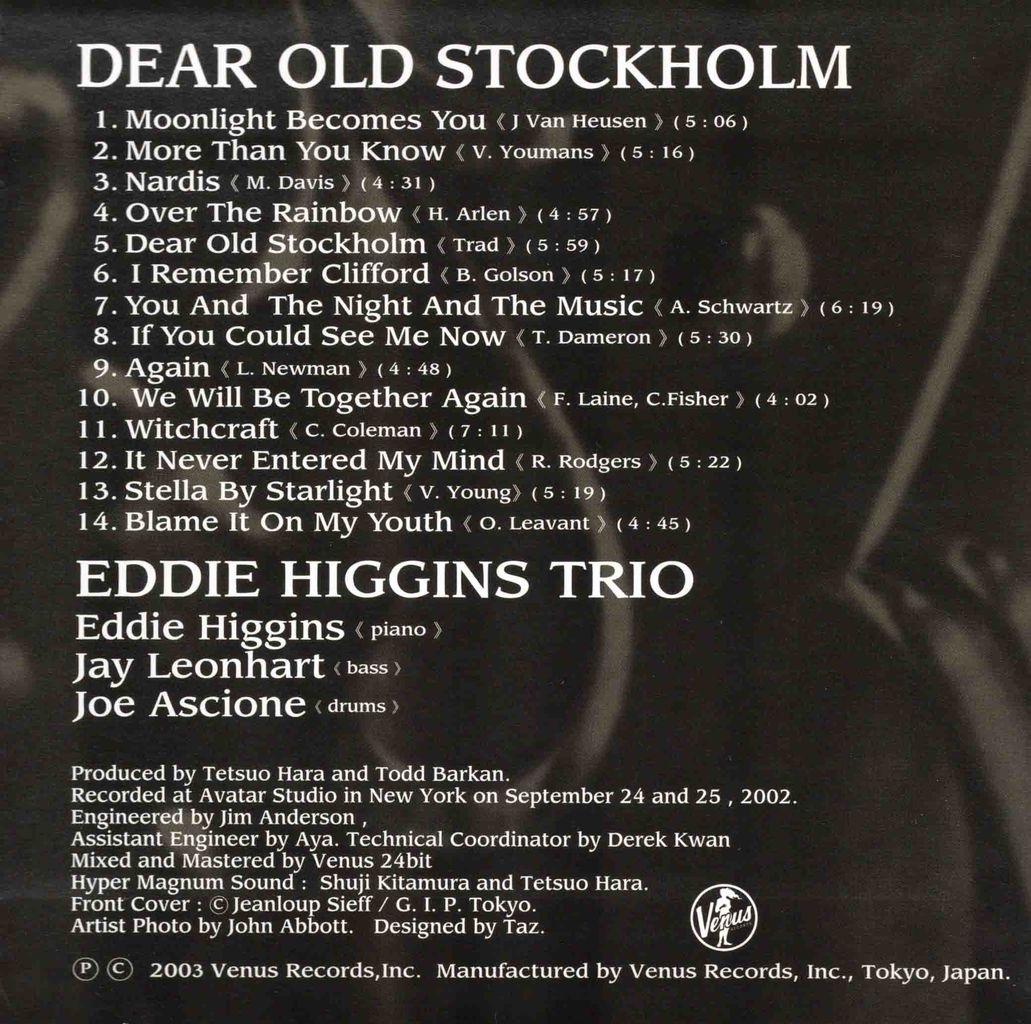 DEAR OLD STOCKHOLM-2