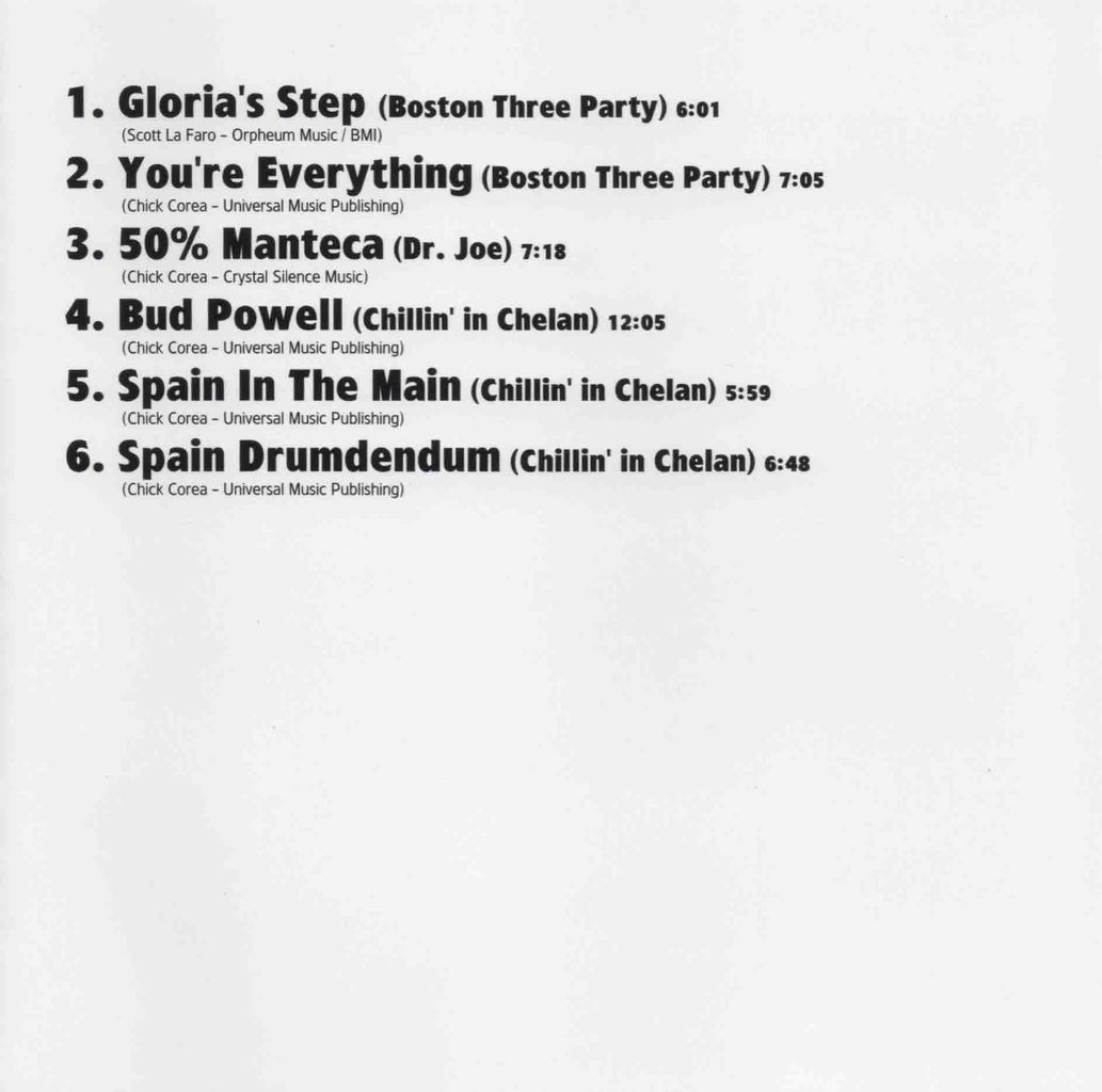 FIVE TRIOS ADDITIONAL TRACKS-2