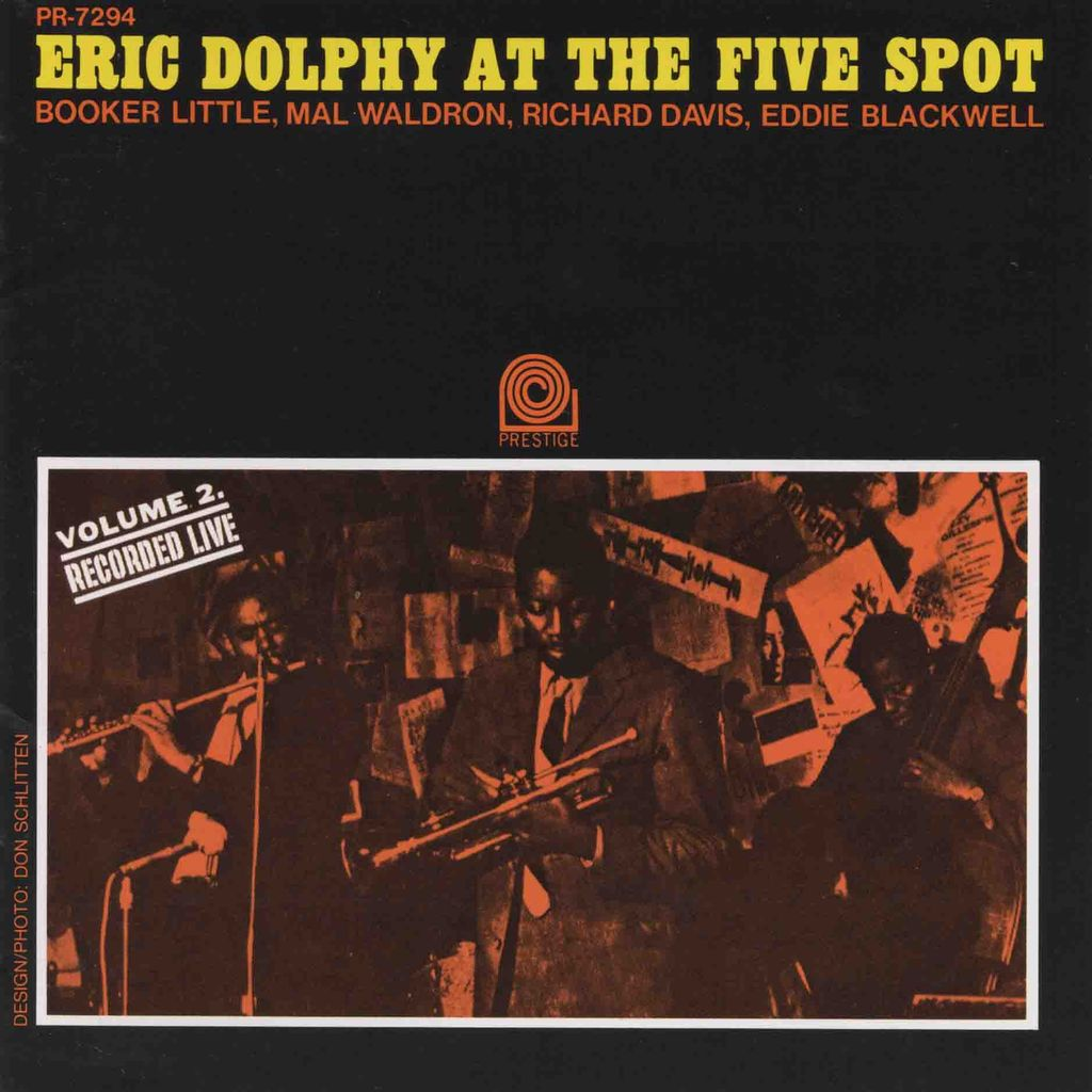 ERIC DOLPHY AT THE FIVE SPOT, VOL.2-1