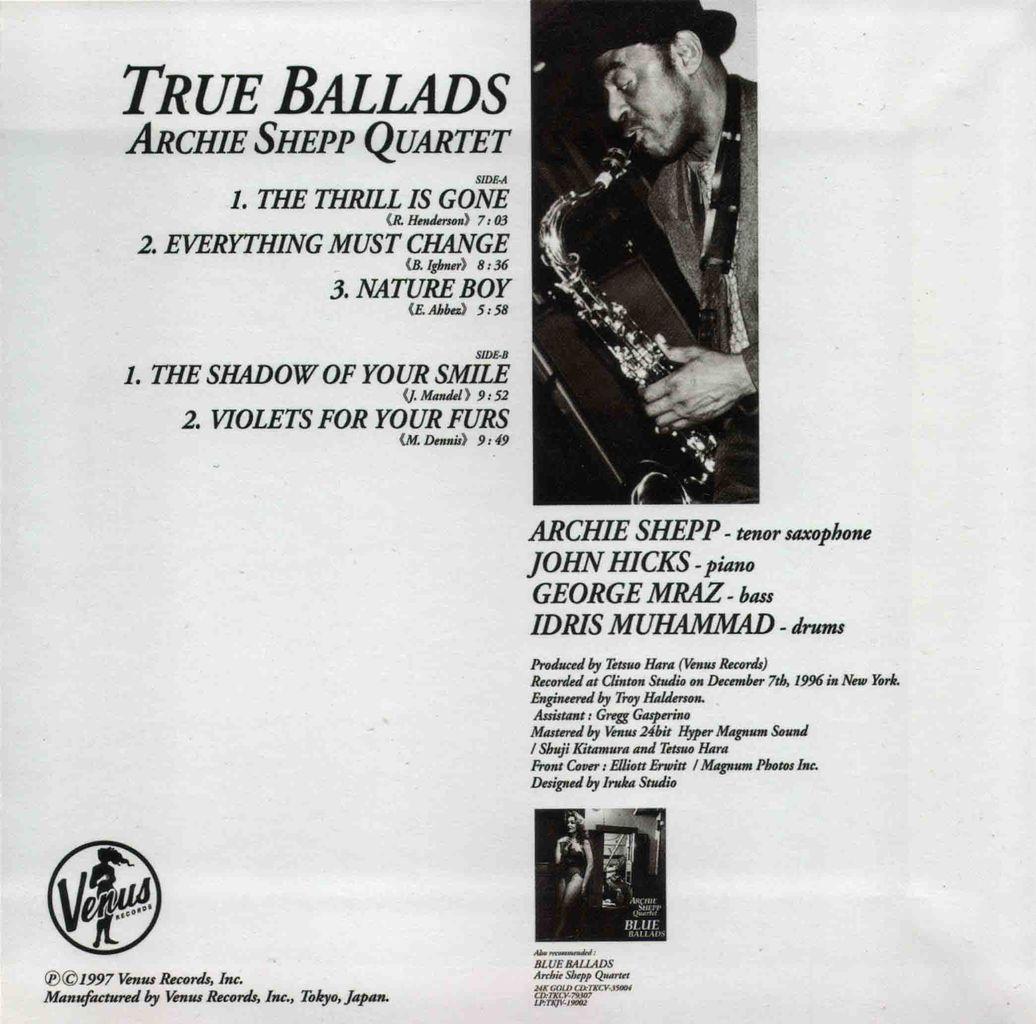 TRUE BALLADS-2