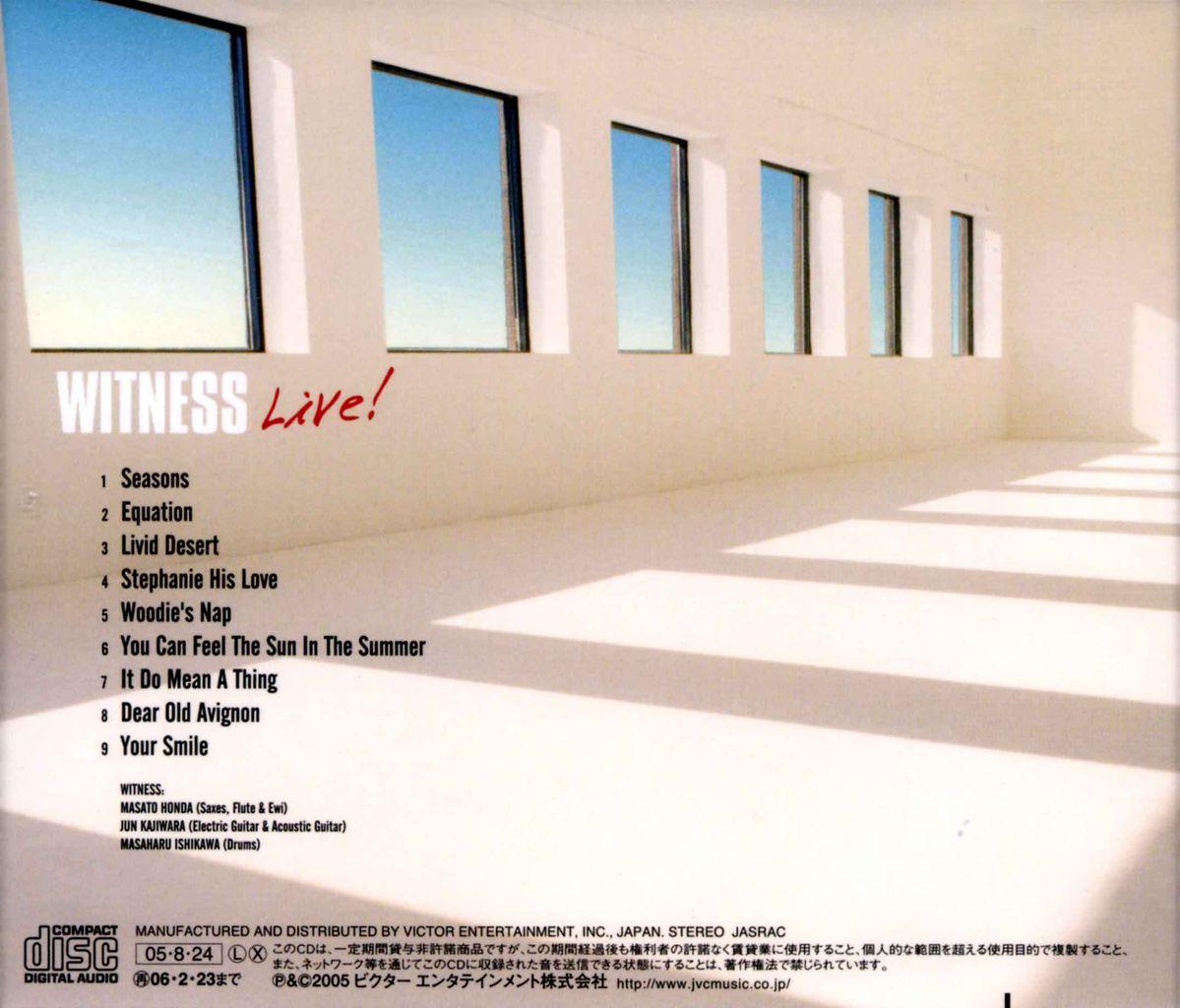 WITNESS LIVE!-2