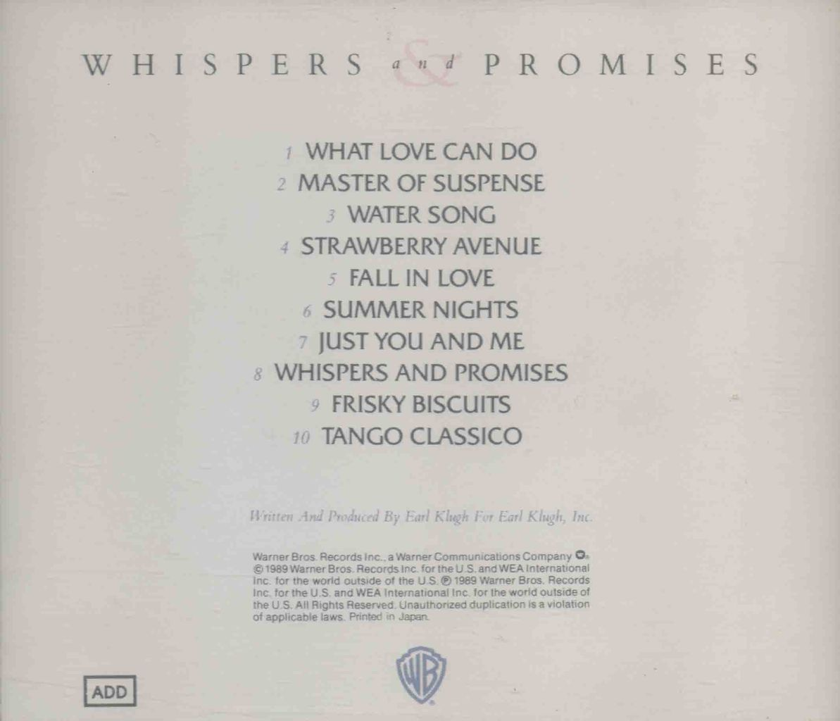 WHISPERS AND PROMISES-2