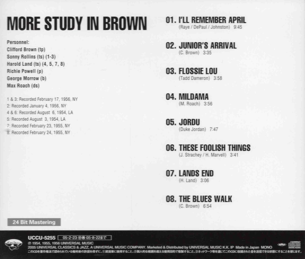 MORE STUDY IN BROWN-2