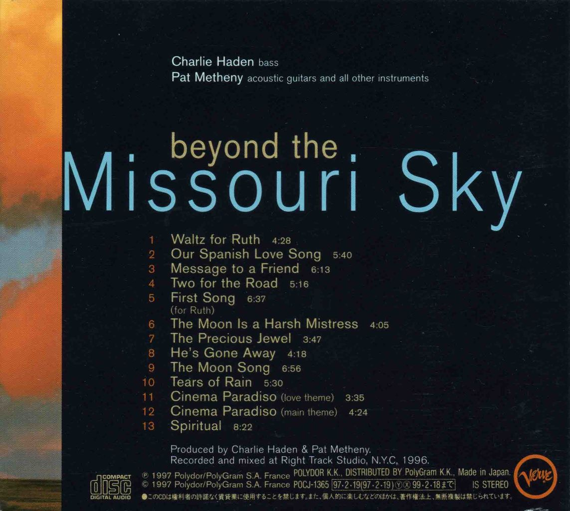 BEYOND THE MISSOURI SKY (SHORT STORIES)-2