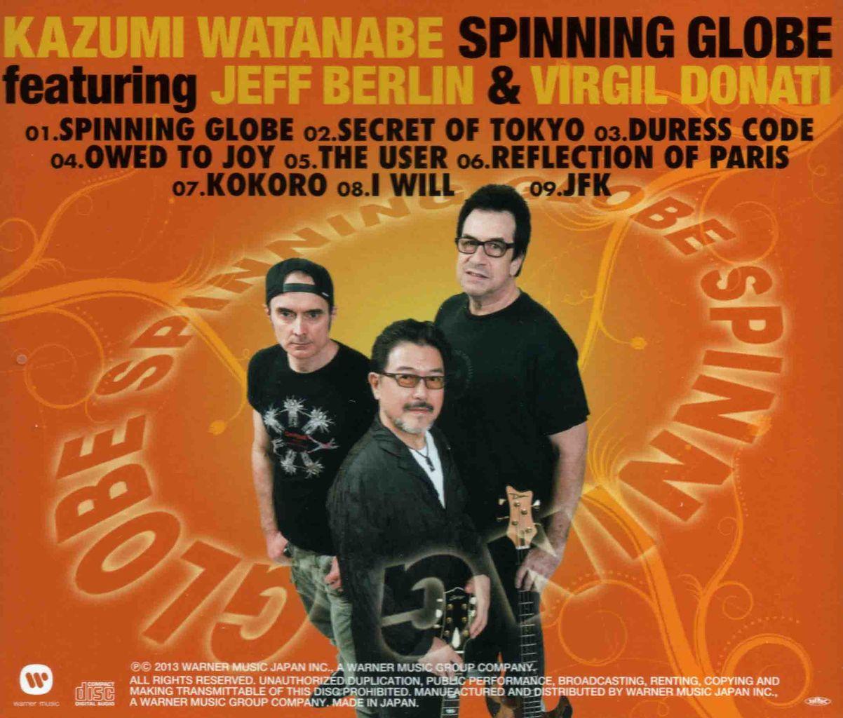 SPINNING GLOBE-2