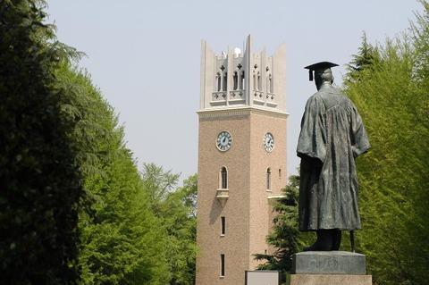 Japan - Waseda University - campus