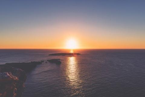 sunrise-sunset-ocean