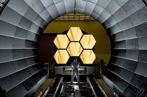 space-telescope-mirror-segments-james-webb-cosmos