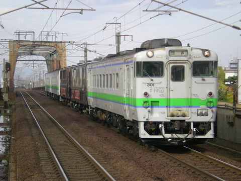 JRH-Barbecue_Train_in_Chitose-Line