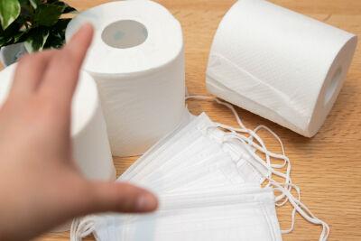 トイレットペーパー、備蓄の目安