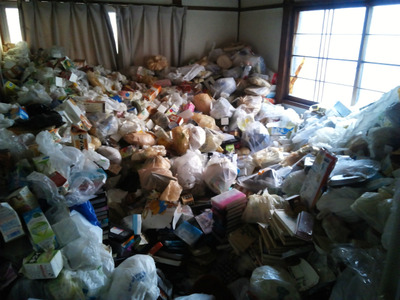 ゴミ屋敷化